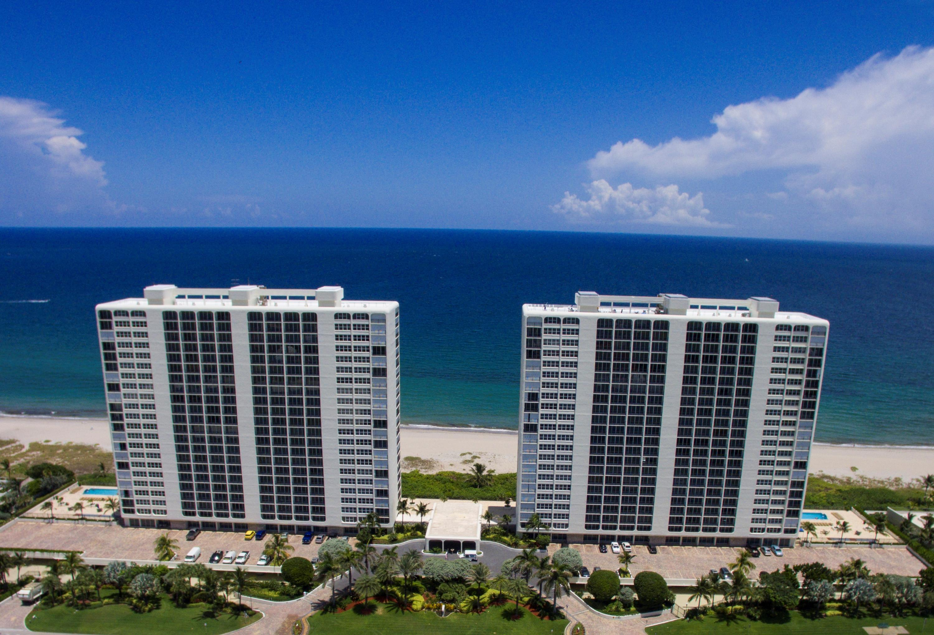 Home for sale in Ocean Towers Condominium Boca Raton Florida