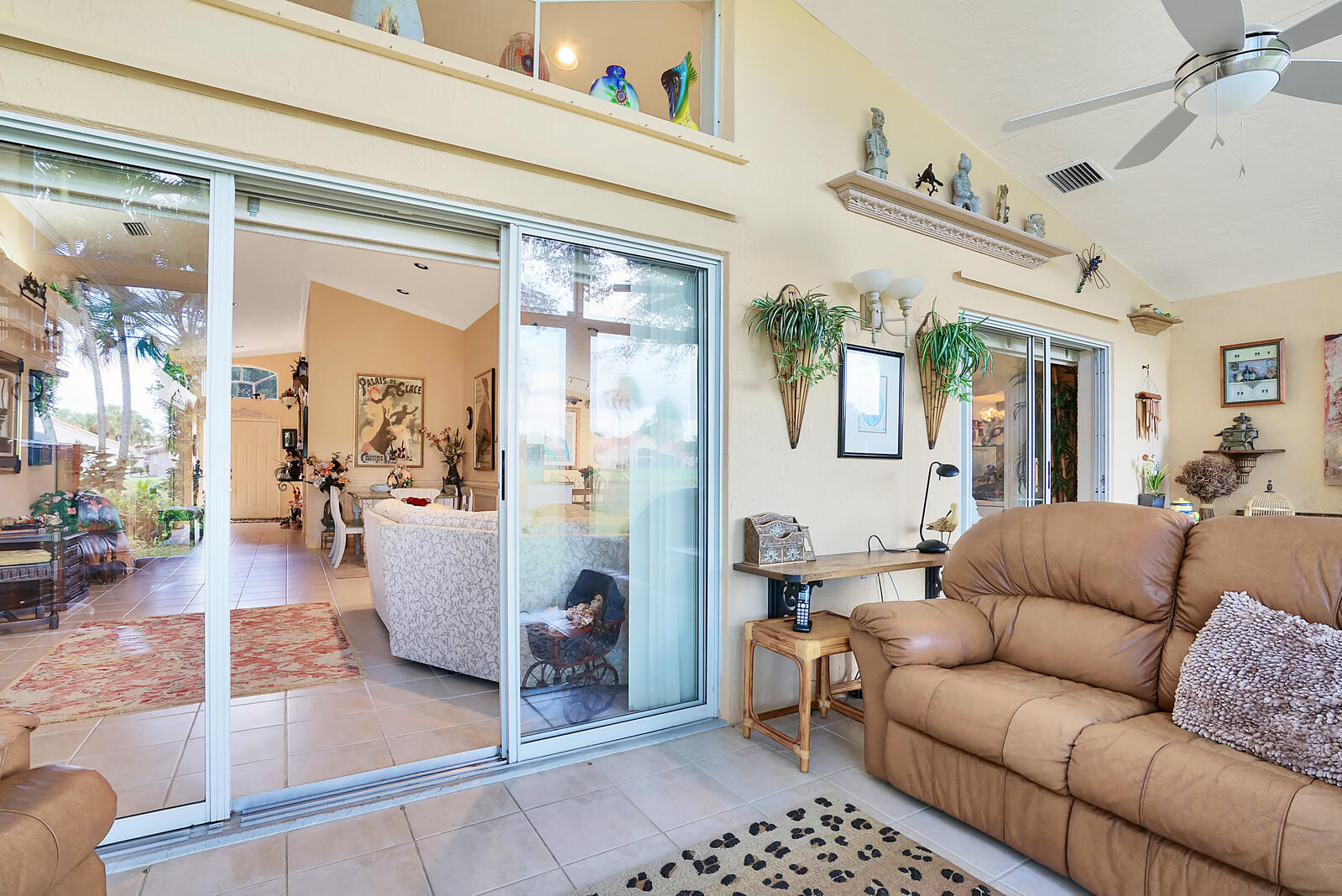 Glass Enclosed Covered  Patio