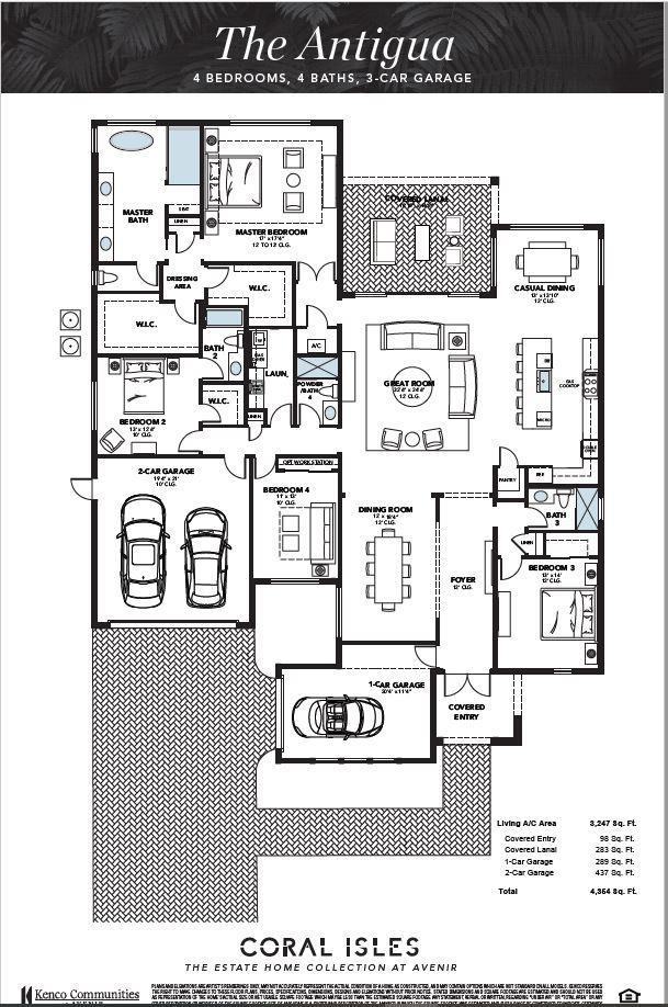 Antigua Floorplan