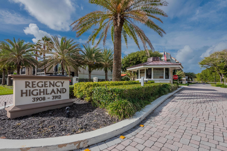Home for sale in REGENCY HIGHLAND CLUB CONDO Highland Beach Florida
