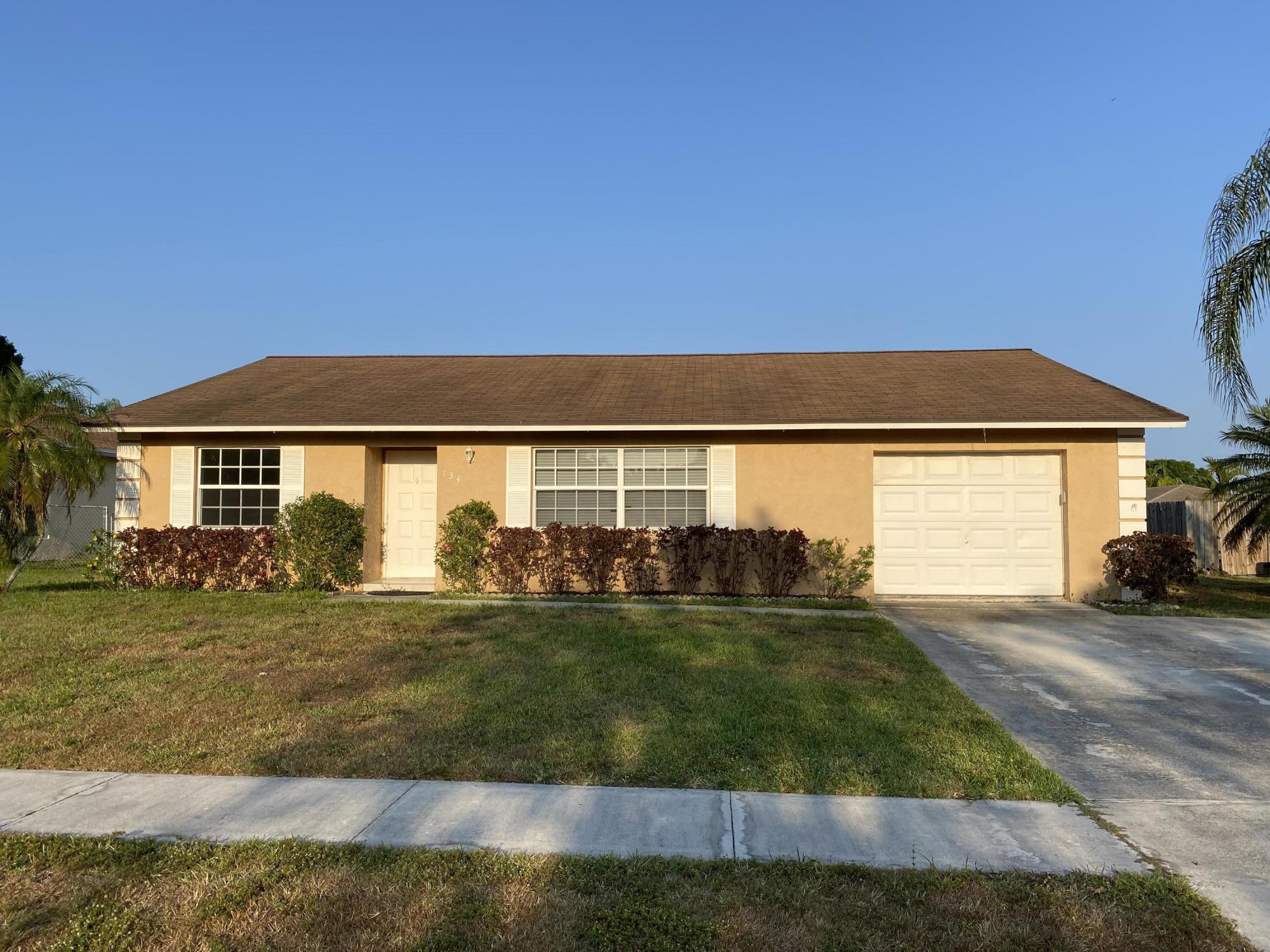 134 Cortes Avenue Royal Palm Beach, FL 33411