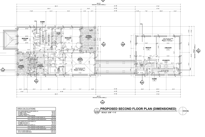 713 Second Floor Plan