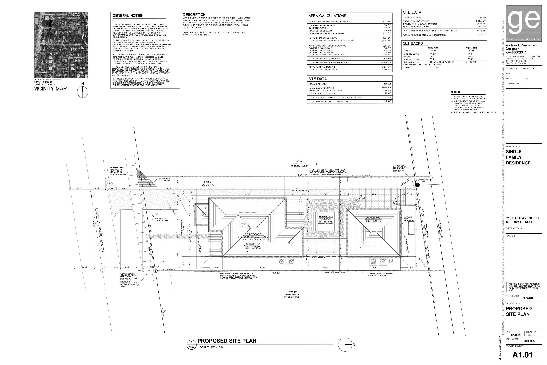 713 Site Plan