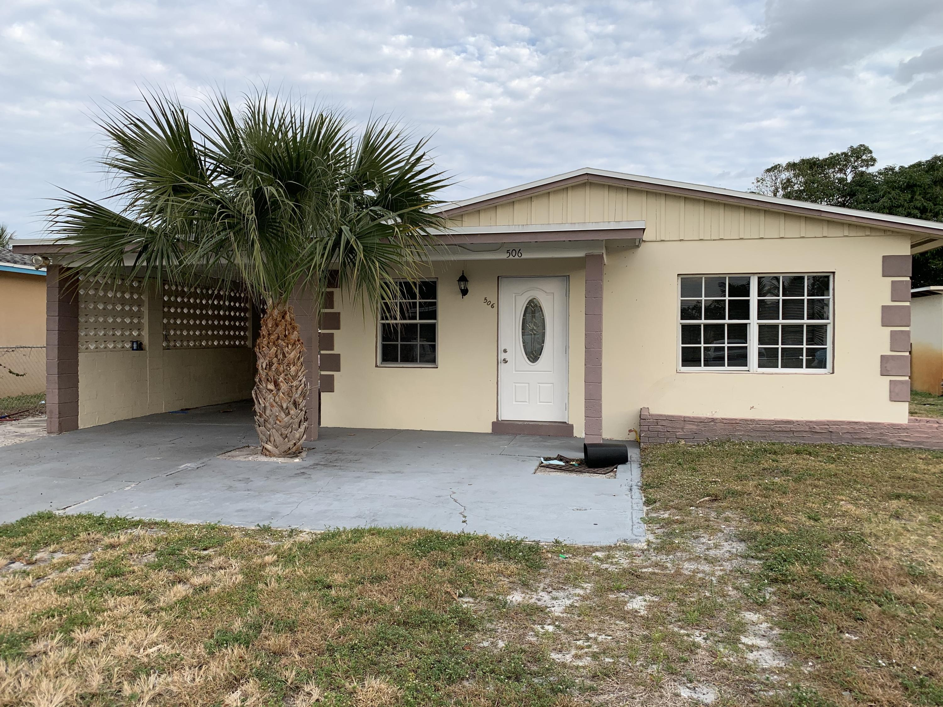 Home for sale in COPPS C W ADD TO BOYNTON Boynton Beach Florida