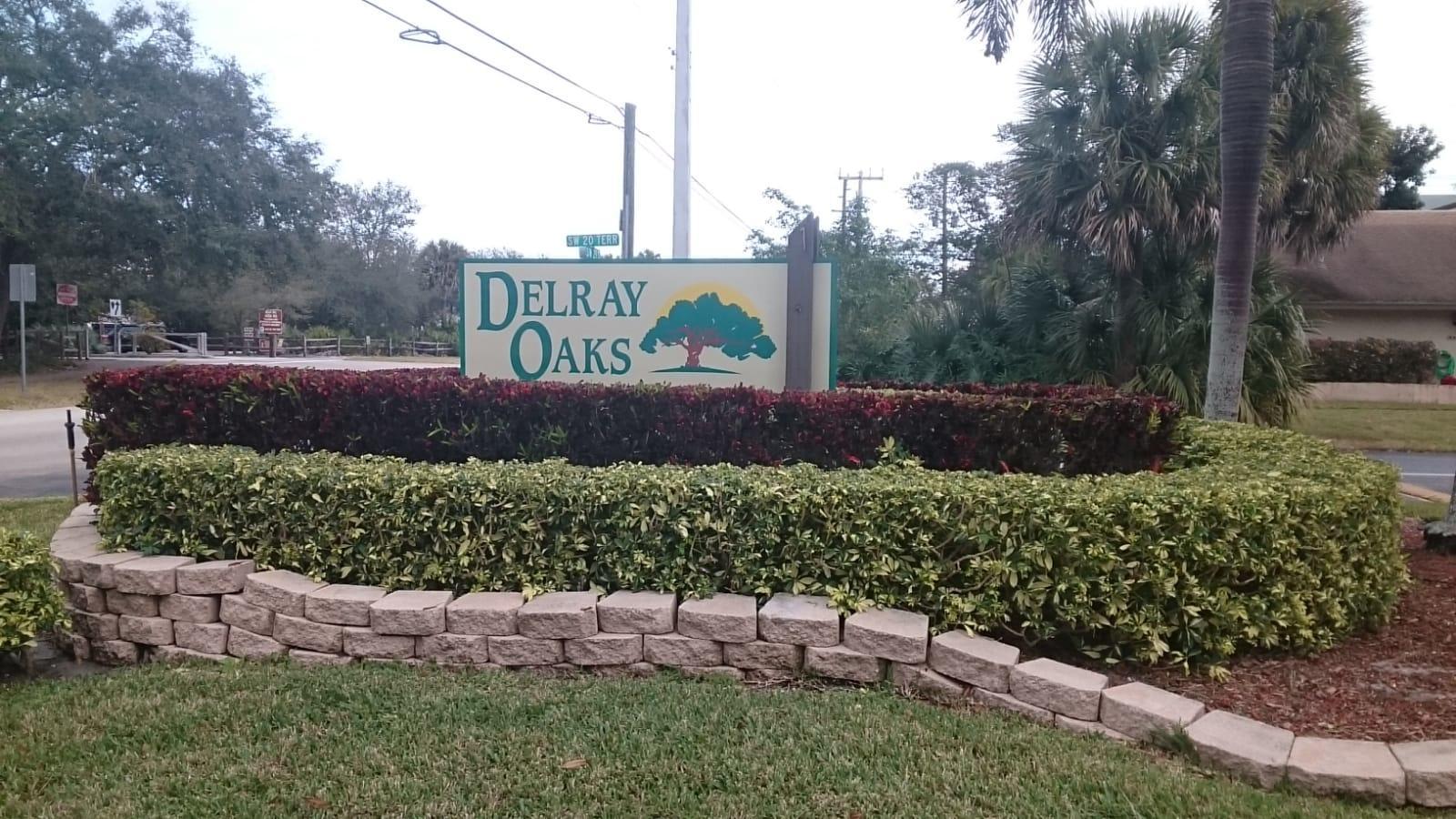 Home for sale in DELRAY OAKS CONDO Delray Beach Florida