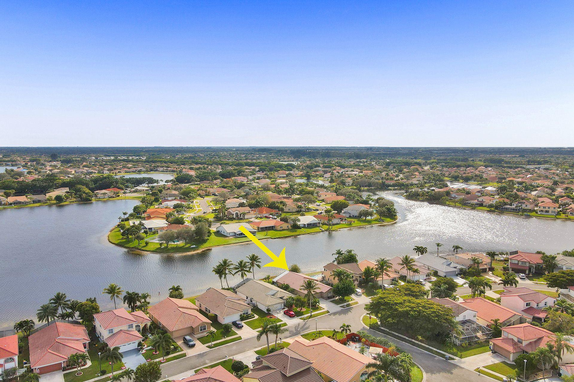 Home for sale in Lake Charleston/ Bristol Bay Lake Worth Florida