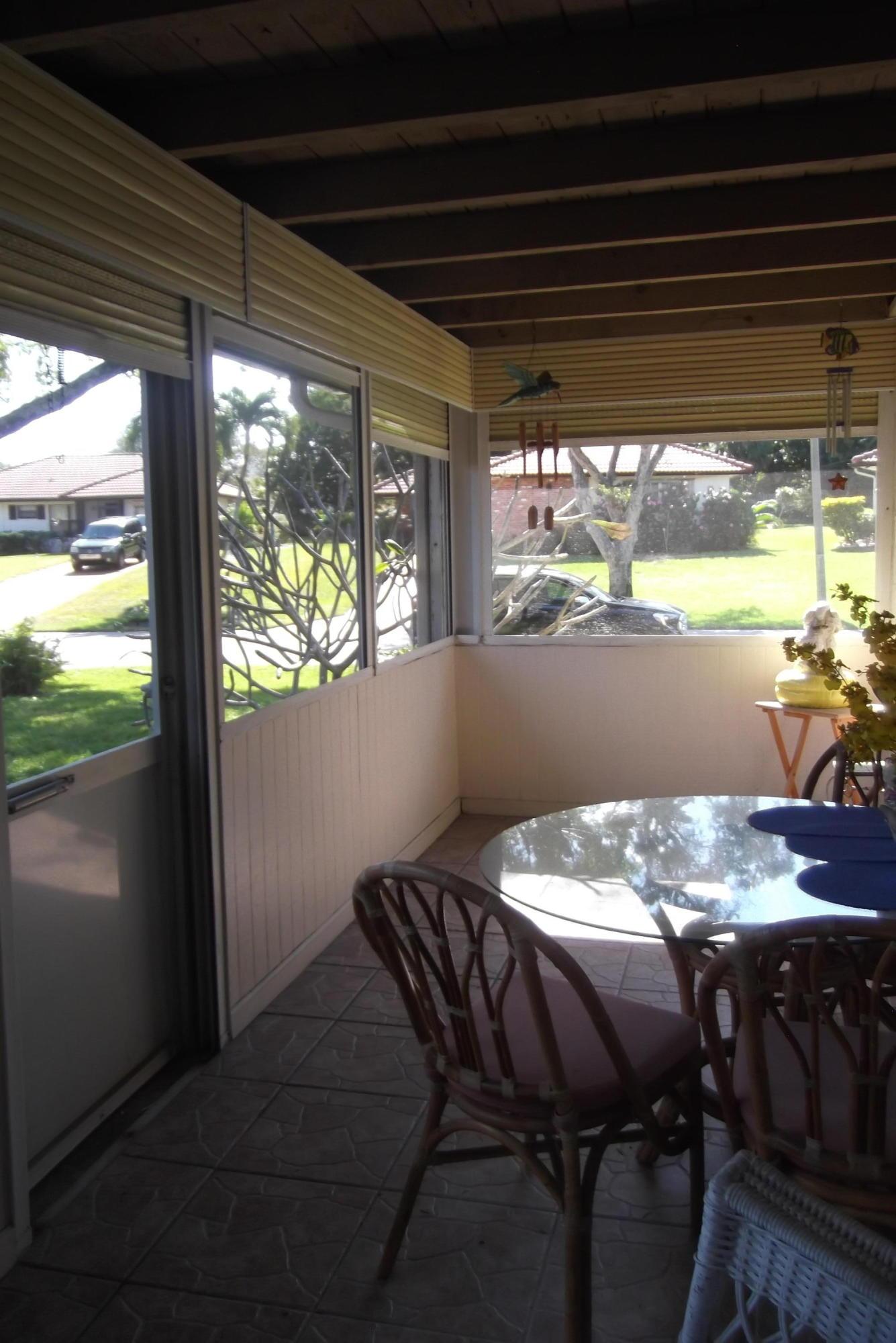 Sc. Glassed Porch
