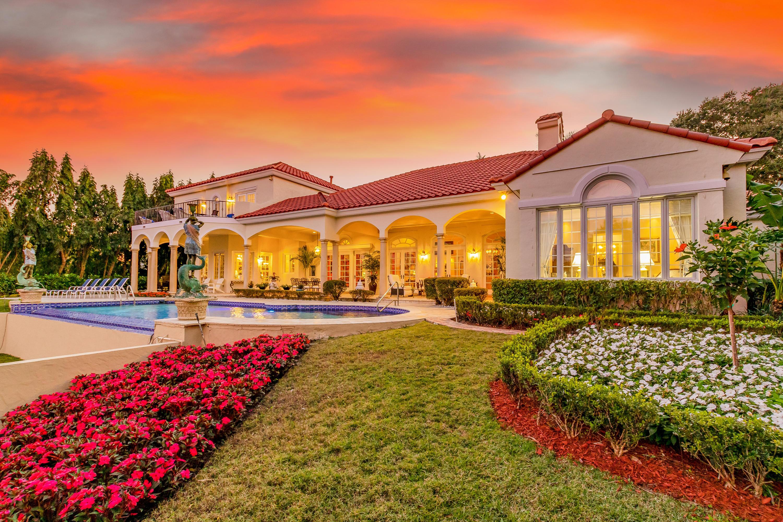 Sunset Backyard Garden