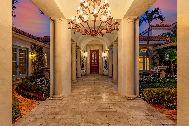 Sunset Entrance