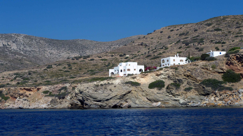 1 Sea Diver Villa View from Sea