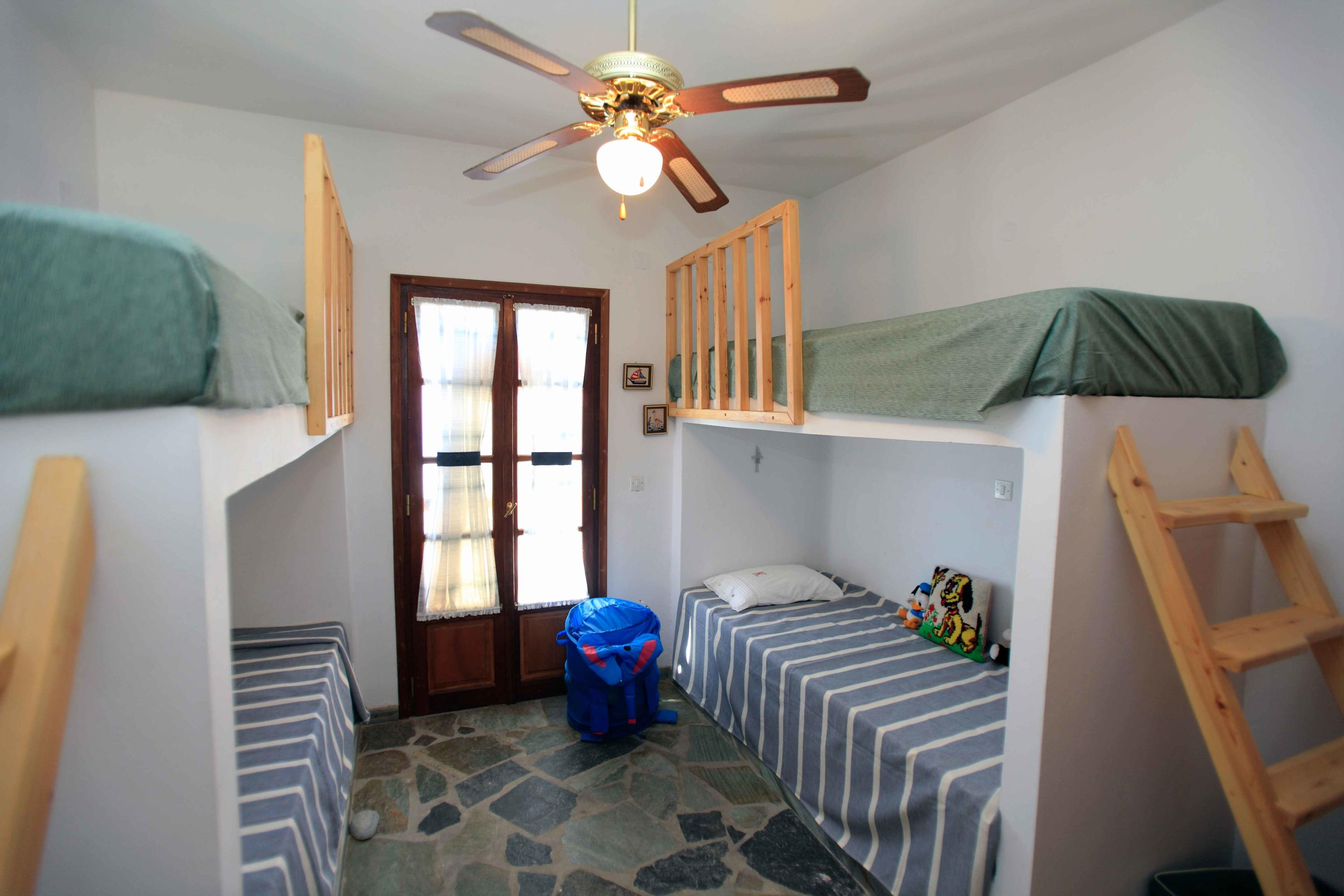 2nd Bedroom with 4 beds and AC- 2nd Floo