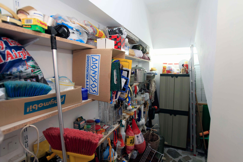 Storage-Utility Room with 2 Freezers