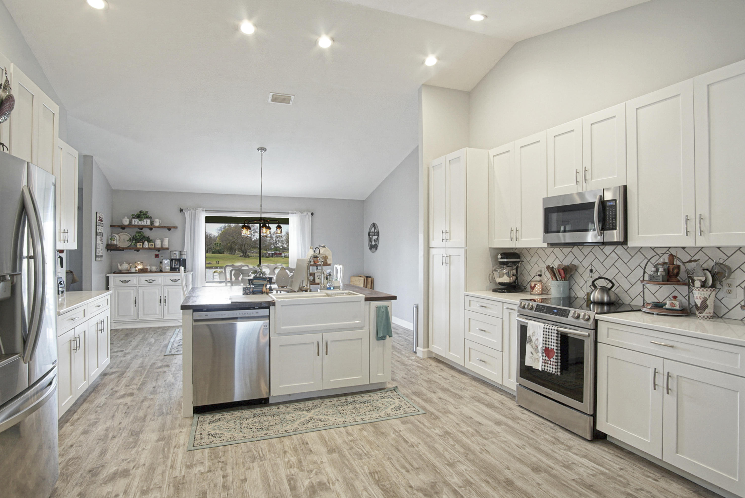 amazing front to back kitchen