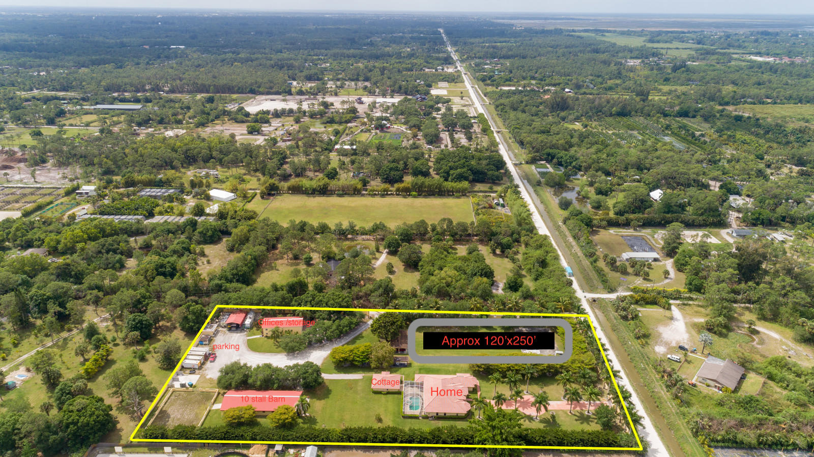 5 ACRE RESIDENTIAL COMPOUND