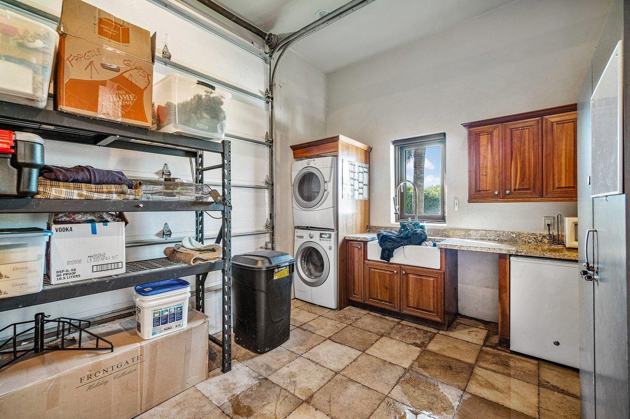 Storage and Laundry
