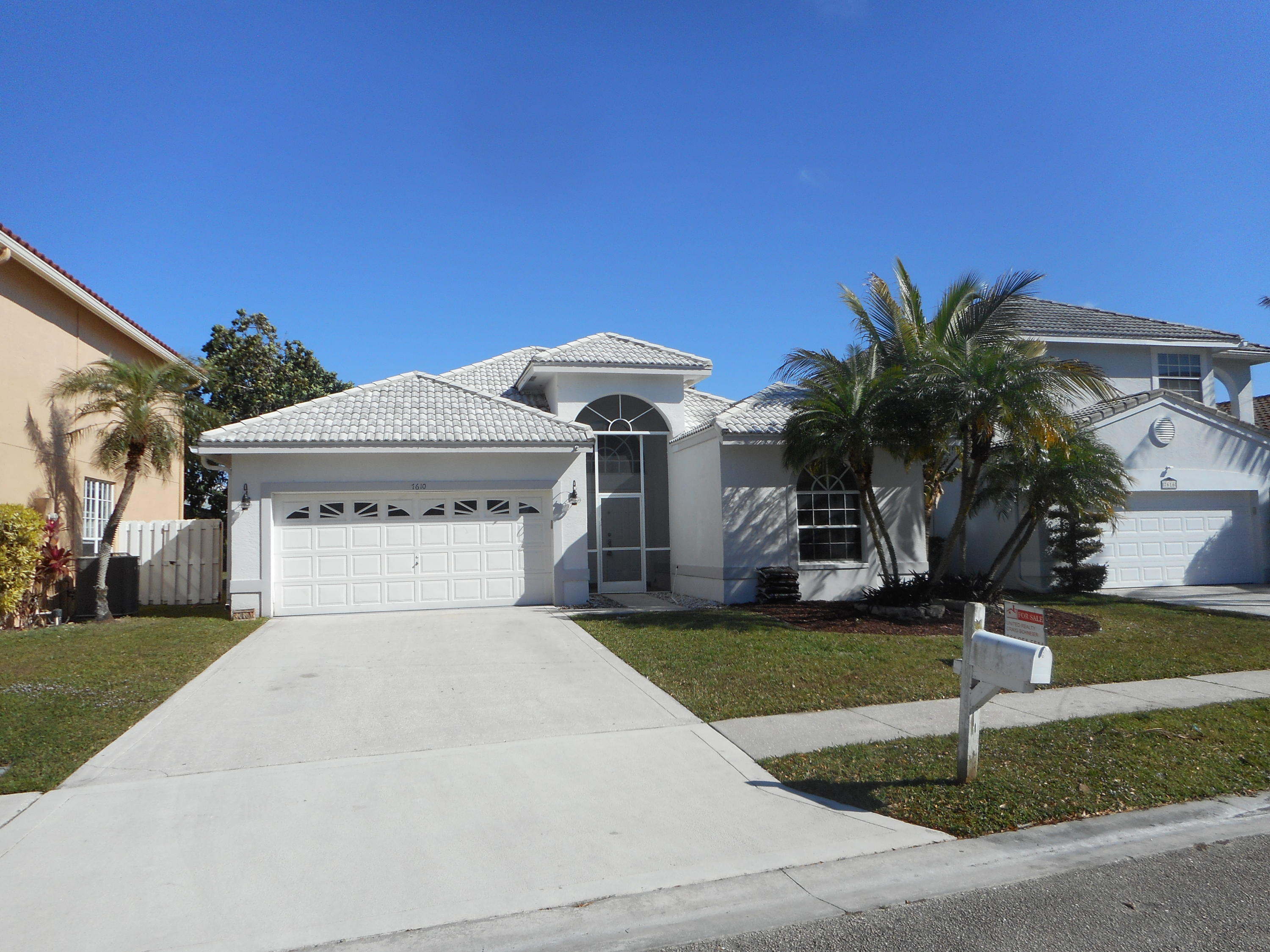 Home for sale in Sable Bay Lake Worth Florida