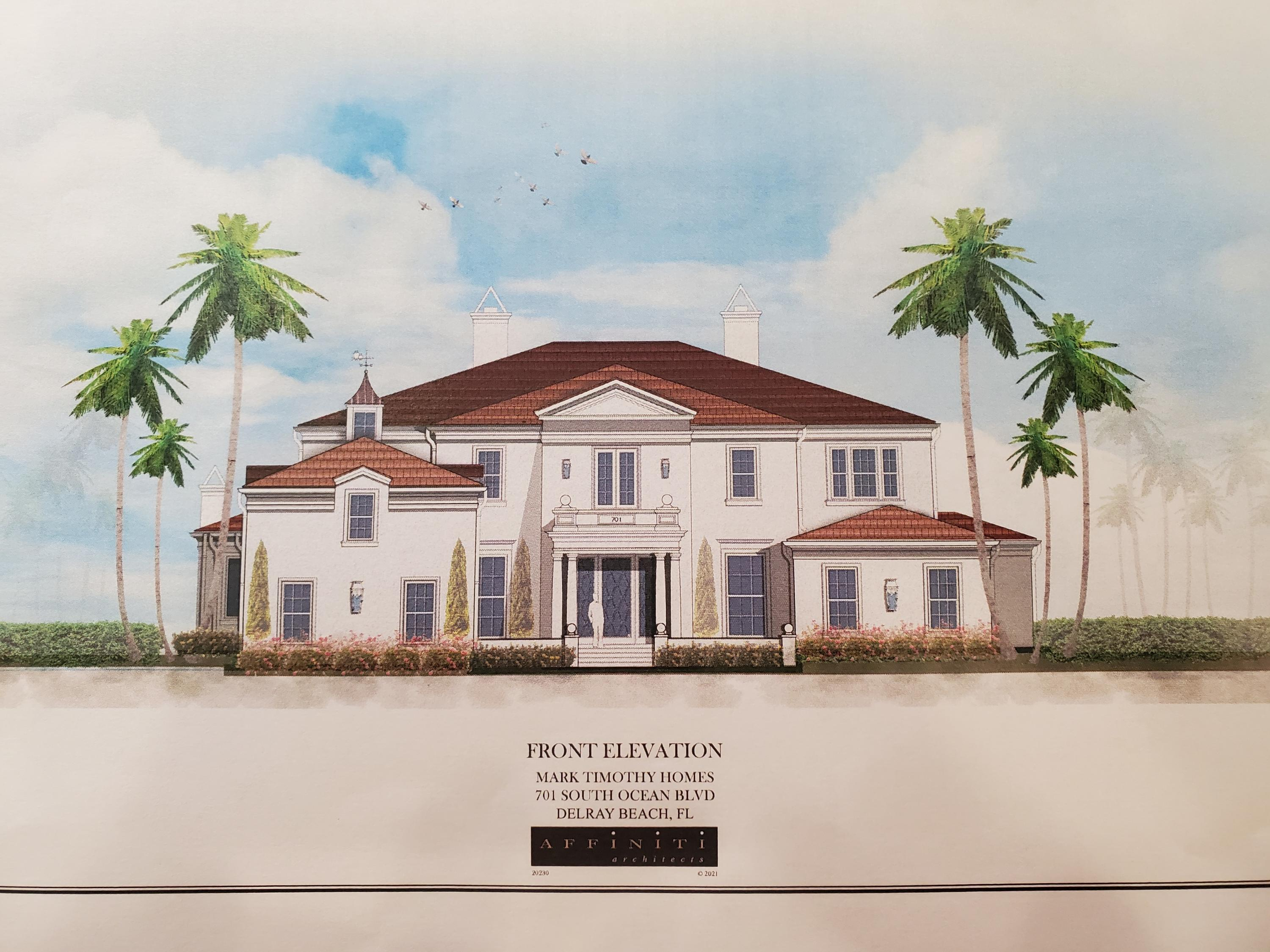 701 Ocean Boulevard, Delray Beach, Florida 33483, 6 Bedrooms Bedrooms, ,9.2 BathroomsBathrooms,Single Family Detached,For Sale,Ocean,RX-10690837