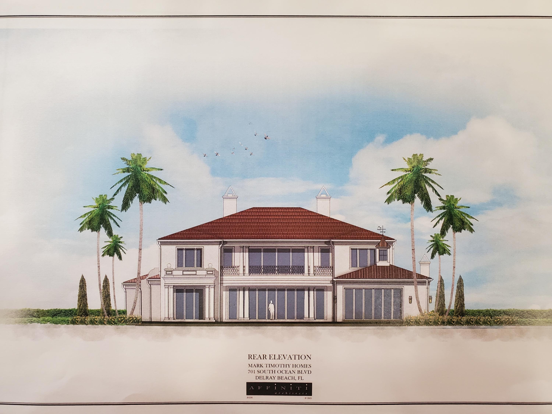 701 Ocean Boulevard, Delray Beach, Florida 33483, 6 Bedrooms Bedrooms, ,9.2 BathroomsBathrooms,Single Family Detached,For Sale,Ocean,RX-10690837