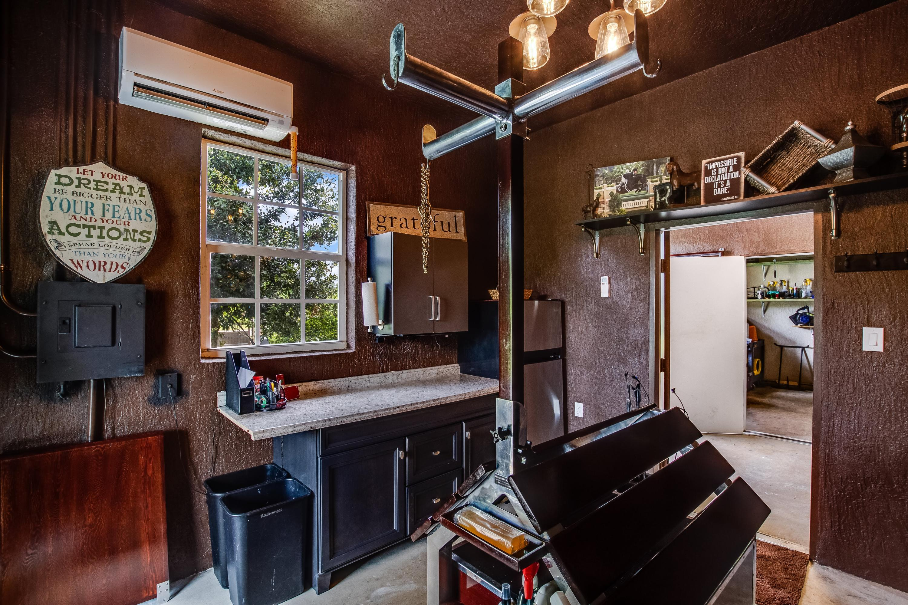Air conditioning Tack Room