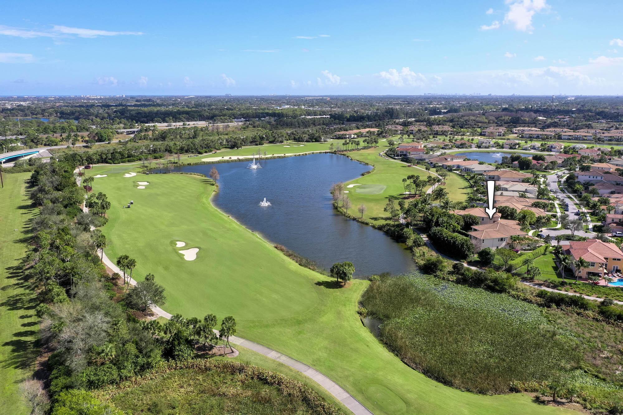 Serene Lake, Golf & Preserve Views