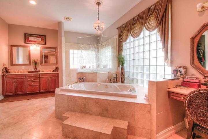 master bath with spa bath