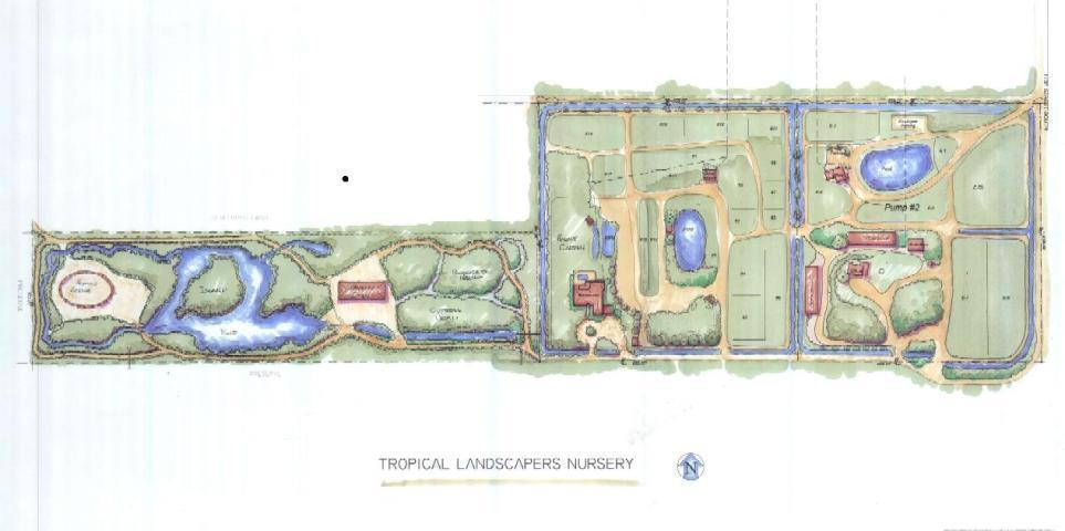 artists rendering of layout of the land