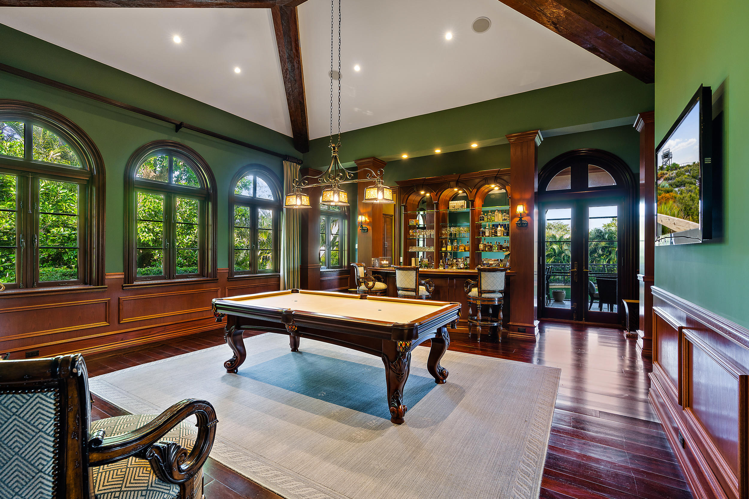 Game/Billiards Room