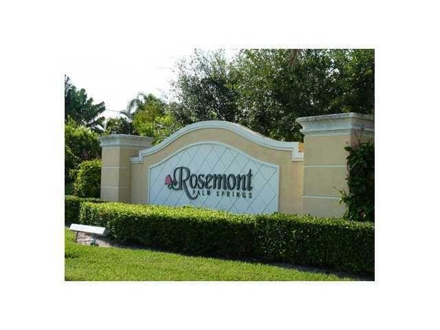 3561 Forest Hill Boulevard #68 - 33406 - FL - Palm Springs