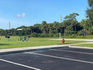 Grills and Volleyball courts at Watersto