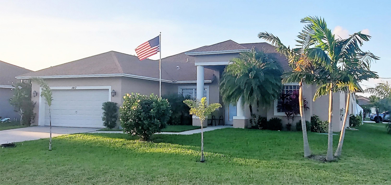 1417 Devera Avenue, Port Saint Lucie, Florida 34953, 4 Bedrooms Bedrooms, ,2 BathroomsBathrooms,Residential,For Sale,Devera,RX-10632942