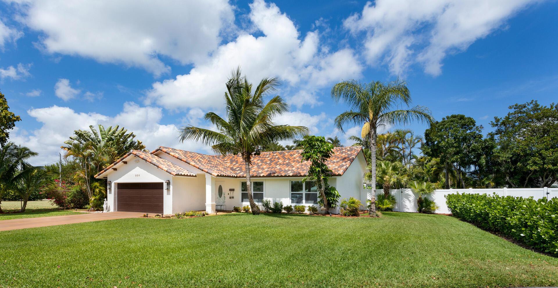 509 Eldorado Lane, Delray Beach, Florida 33444, 3 Bedrooms Bedrooms, ,2 BathroomsBathrooms,Single Family Detached,For Sale,Eldorado,RX-10699087