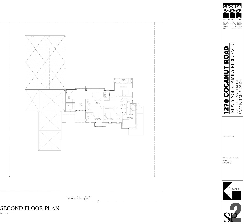 1270 Cocoanut - 2nd Floor Plan