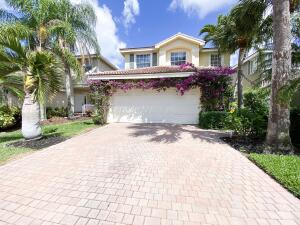 Gorgeous and fully upgraded home in a gated, resort-style community of Nautica Isles! This family has upgraded this house to the nines so that it is turn-key and fit for a king! Picture yourself in the spacious living areas with gorgeous travertine flooring throughout, along with a state-of-the-art kitchen which features marble waterfall countertops, newer stainless steel appliances, luxurious backsplash and tons of cabinetry space. The bedrooms are all spacious as well and the master suite is complete with a luxurious  HGTV-style master bath. The backyard is the perfect entertainment space, with a sizable covered lanai and an outdoor kitchen perfect for family parties and the like. Live the resort lifestyle in Nautica Isles! This well maintained subdivision is gated and offers its