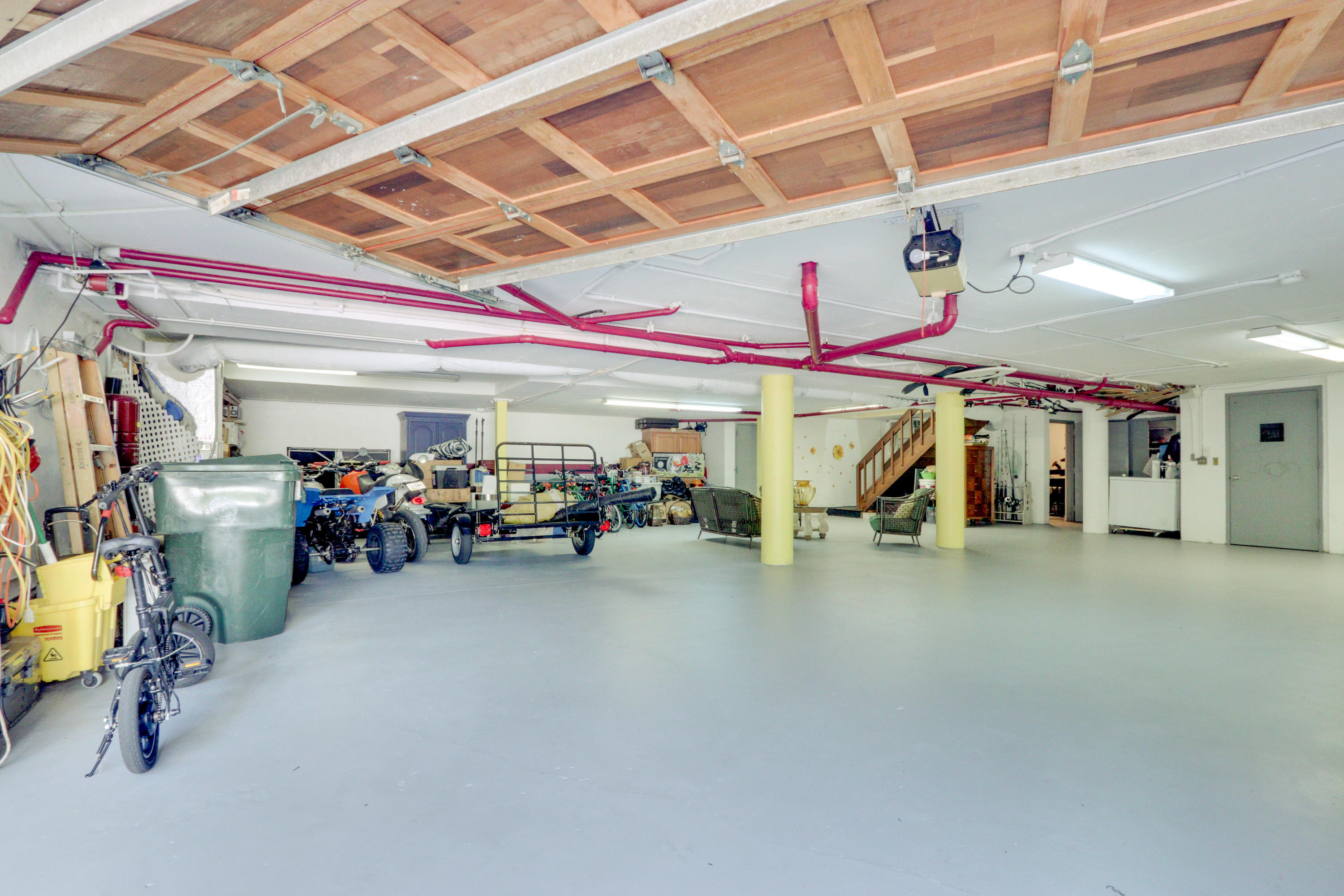 Eight Car Garage for Collection