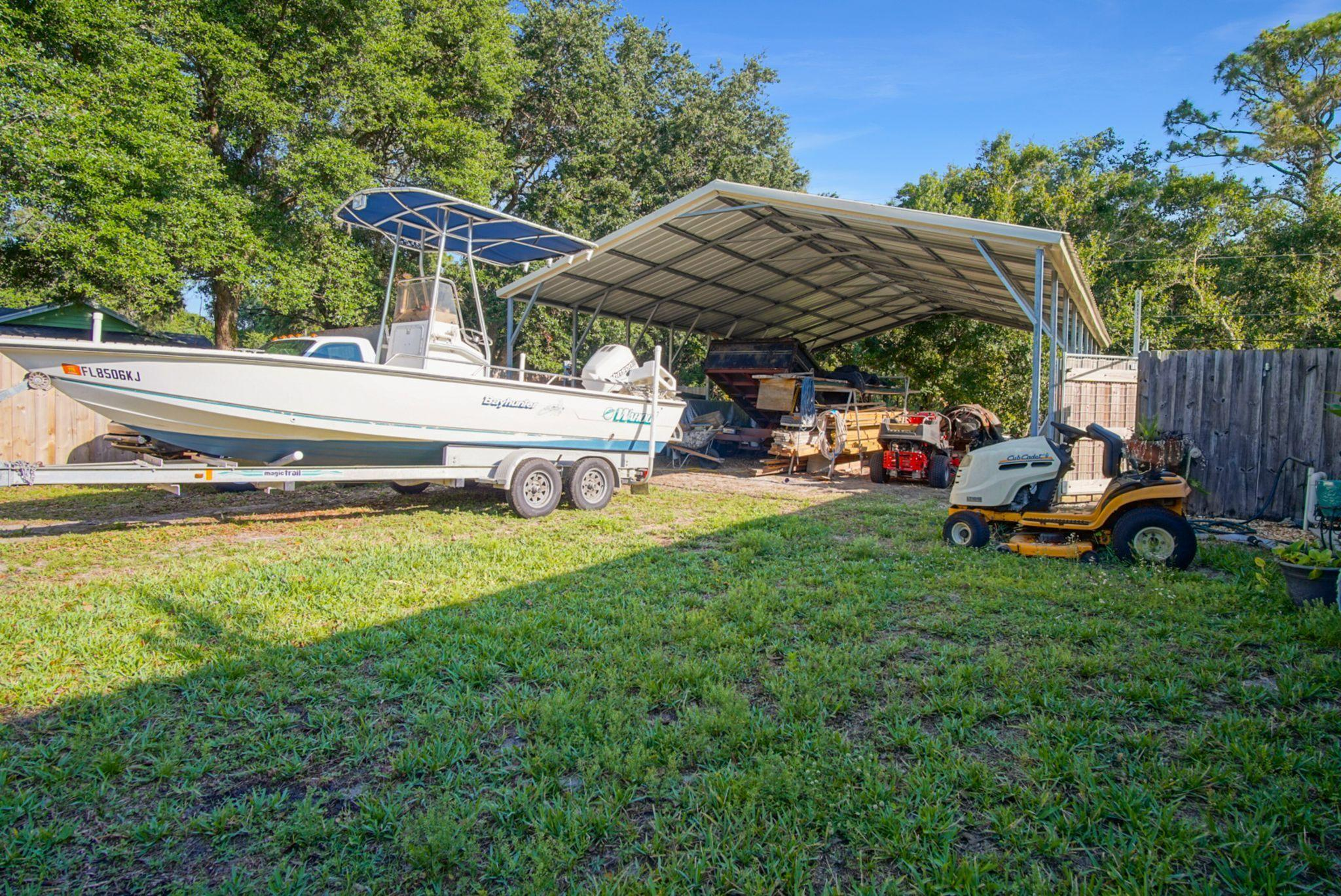STORAGE FOR BOAT OR RV ETC