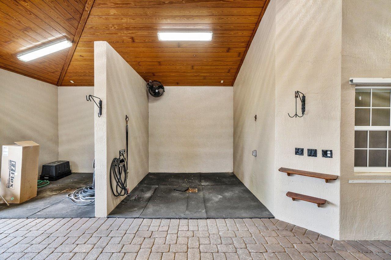 Wash Stalls