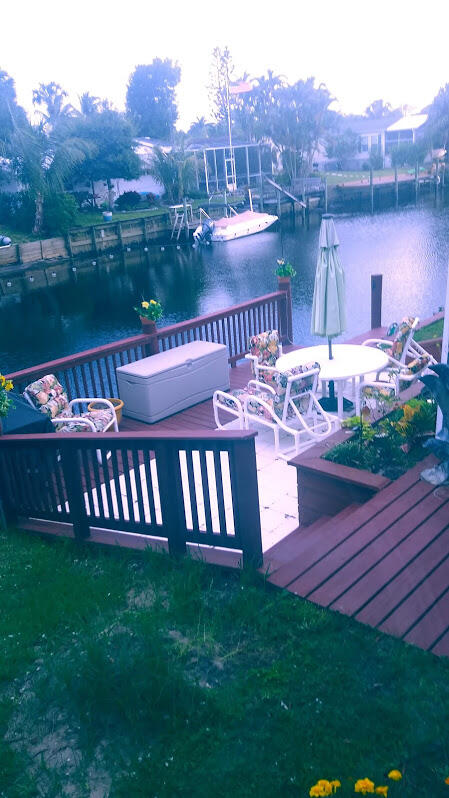 deck and canal