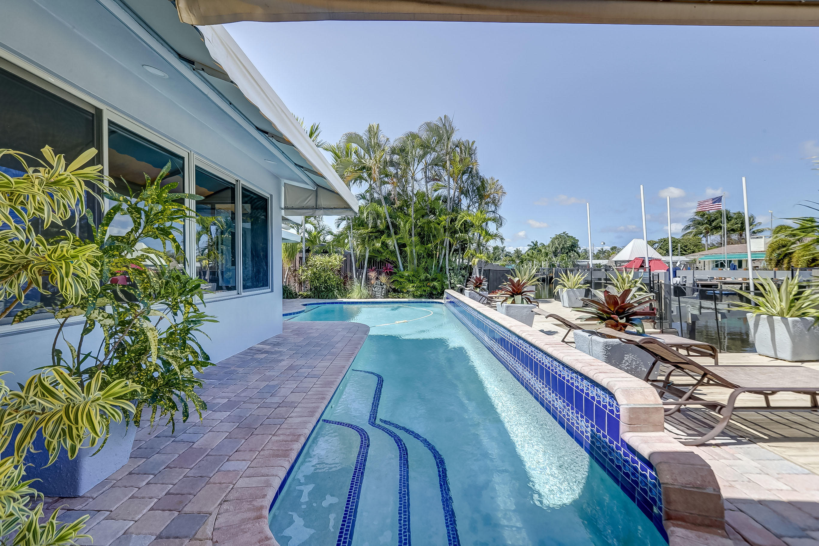 Swim Laps! 45' Pool Length