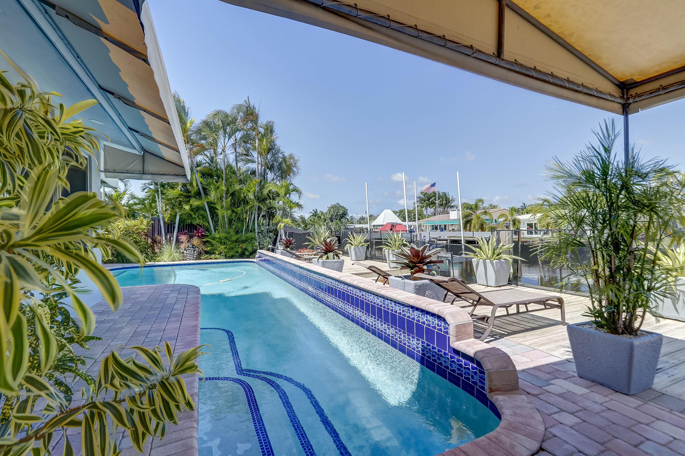 Or, just relax in the Salt Water Pool