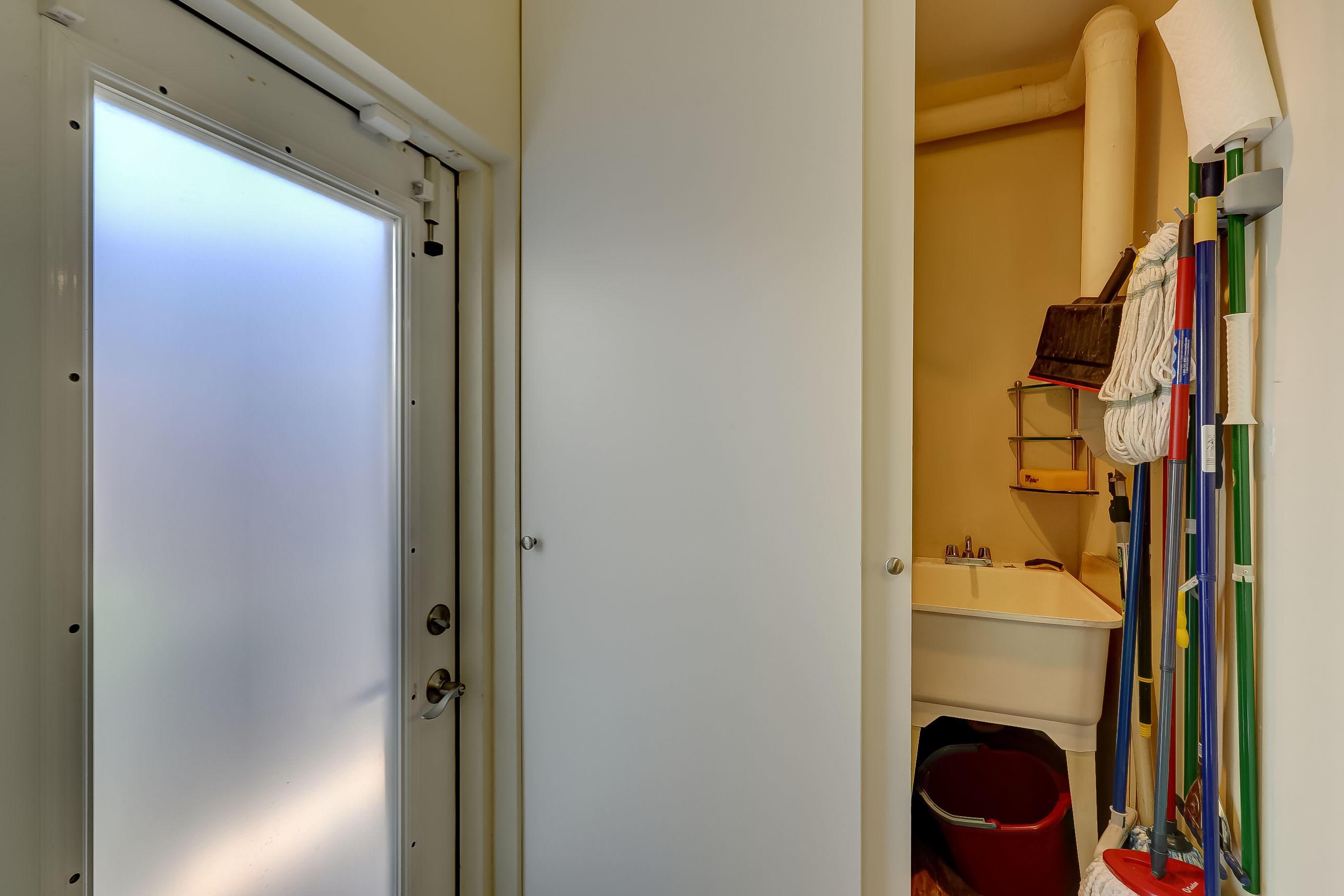 and a Utility Closet