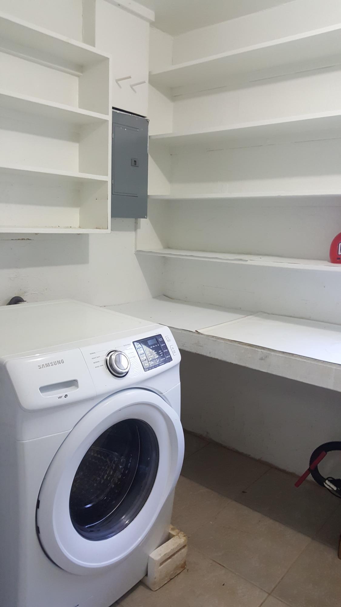 Laundry shelf