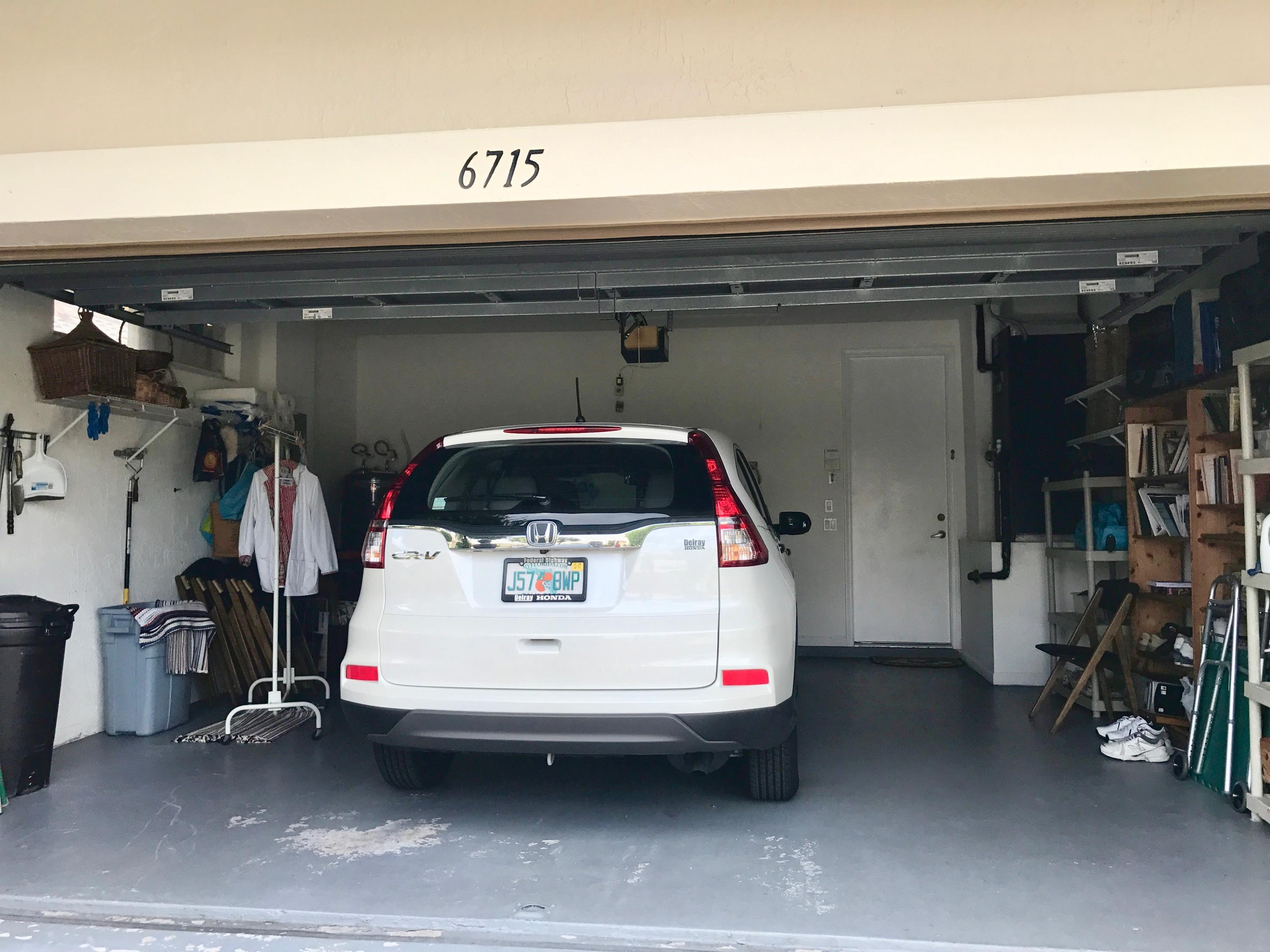 2 car garage entrance to laundry room