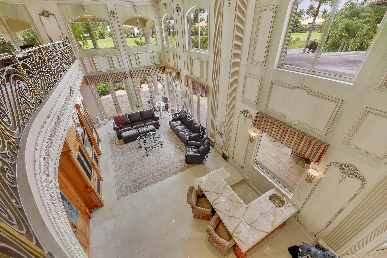 upstairs landing overlooking family room