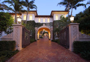 Major gated and walled Palm Beach inspired Oceanfront estate sited on .95+/- acres was designed to reflect the modern lifestyle with contemporary amenities on the Northern shores of Boca Raton in Highland Beach. Magnificent motor court, gardens, fountains, and verdant beachfront lawn. Glamorous main and guest house, originally furnished by award-winning Marc-Michaels Interior Design. Shown by appointment only to pre-qualified buyers.