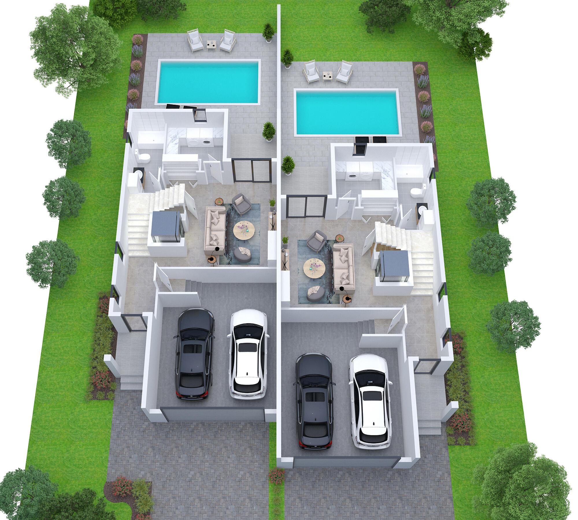 Lot 4 5 -First floor plan