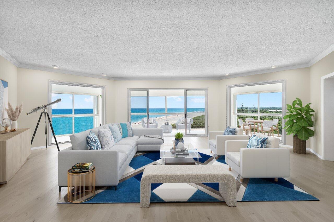 6665 Ocean Boulevard, Ocean Ridge, Florida 33435, 3 Bedrooms Bedrooms, ,3 BathroomsBathrooms,Condo/coop,For Sale,Ocean,RX-10696861