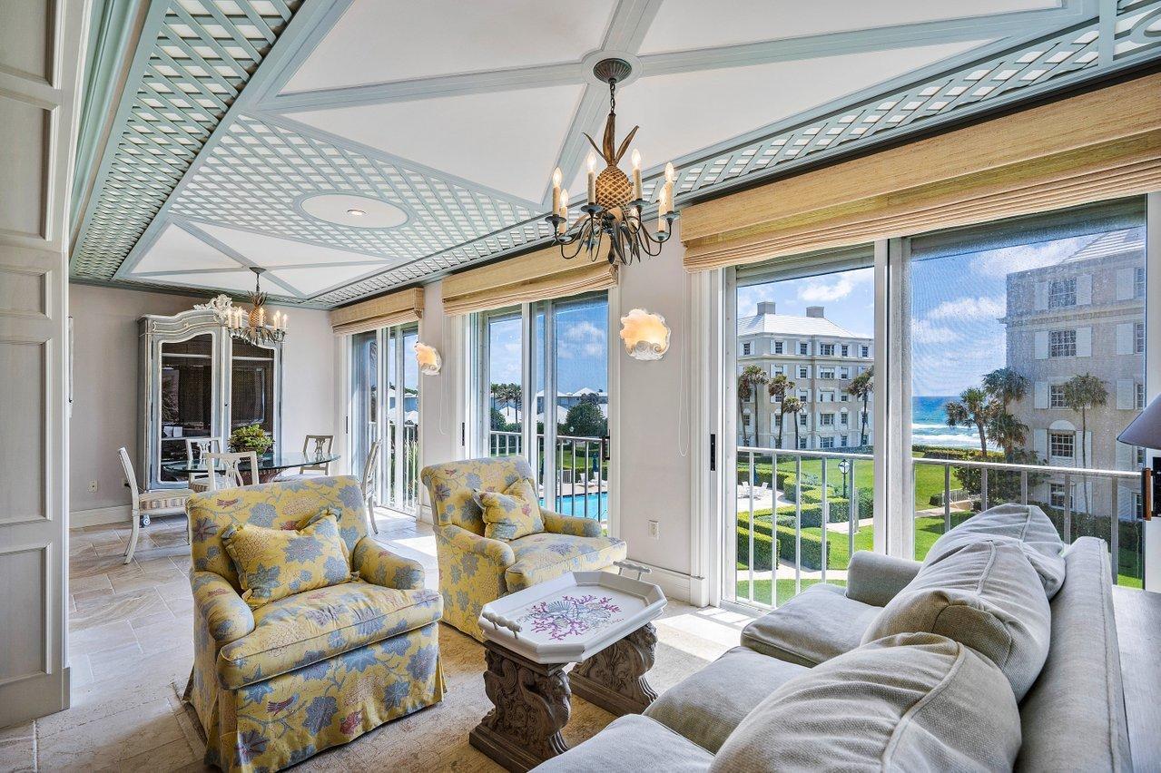 4333 Ocean Boulevard, Gulf Stream, Florida 33483, 3 Bedrooms Bedrooms, ,3.1 BathroomsBathrooms,Condo/coop,For Sale,Ocean,RX-10725043