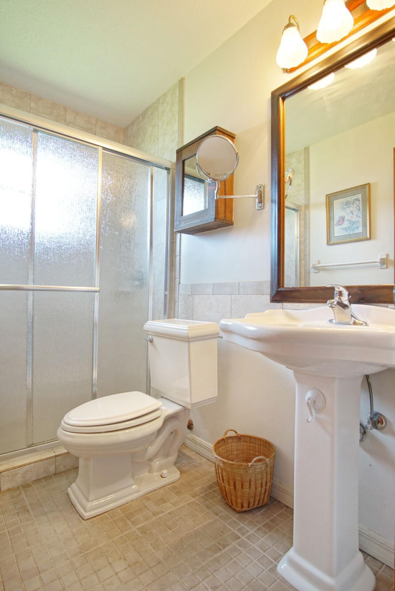 Irving guest bathroom 2