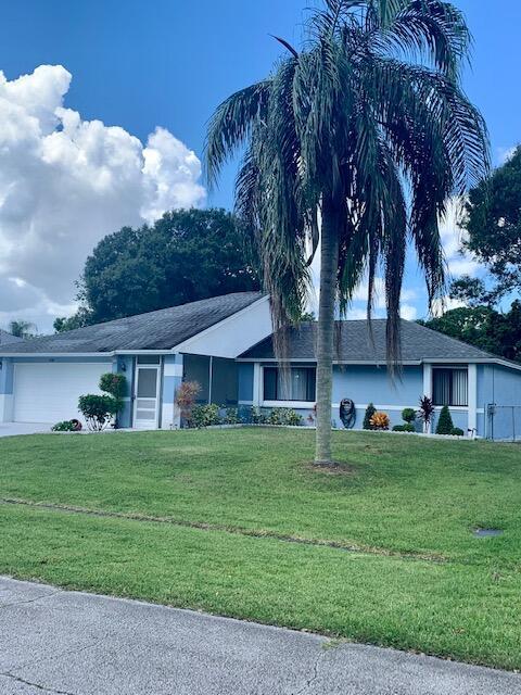 1150 Clifton Lane, Port Saint Lucie, Florida 34983, 3 Bedrooms Bedrooms, ,2 BathroomsBathrooms,A,Single family,Clifton,RX-10732318