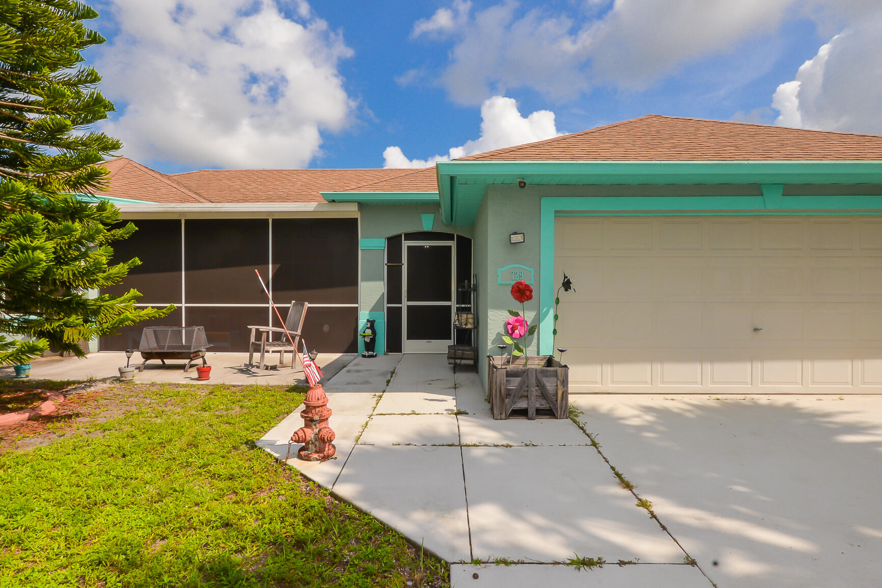 729 Tatum Terrace, Port Saint Lucie, Florida 34953, 4 Bedrooms Bedrooms, ,2 BathroomsBathrooms,A,Single family,Tatum,RX-10734504